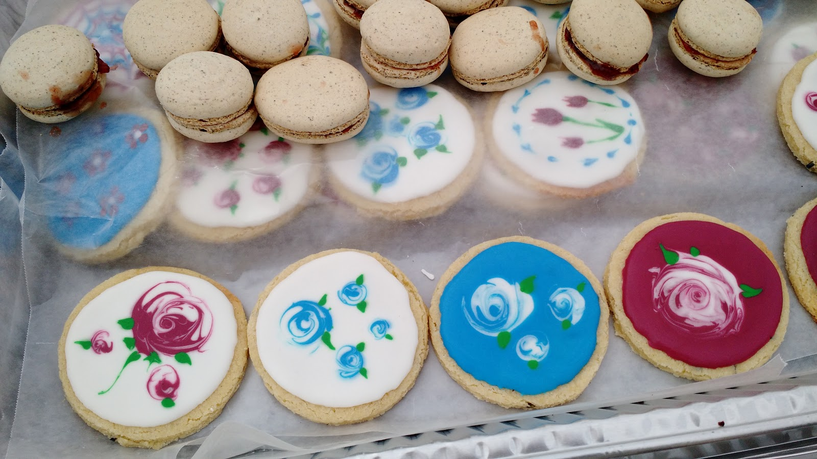 Wanna B. Gourmande: Lavender Sugar Cookies