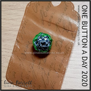 Day 209 : Jinnie - One Button a Day 2020 by Gina Barrett