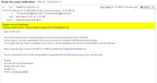 { SCAM } Gmail Account verific...