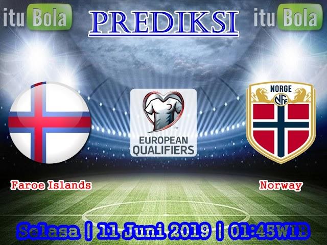 Prediksi Faroe Islands vs Norway - ituBola