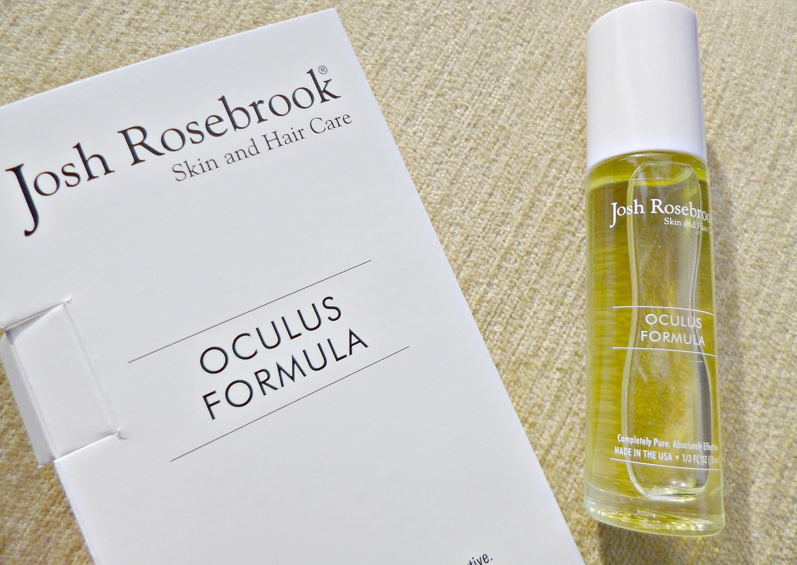 New in – Josh Rosebrook Oculus formula