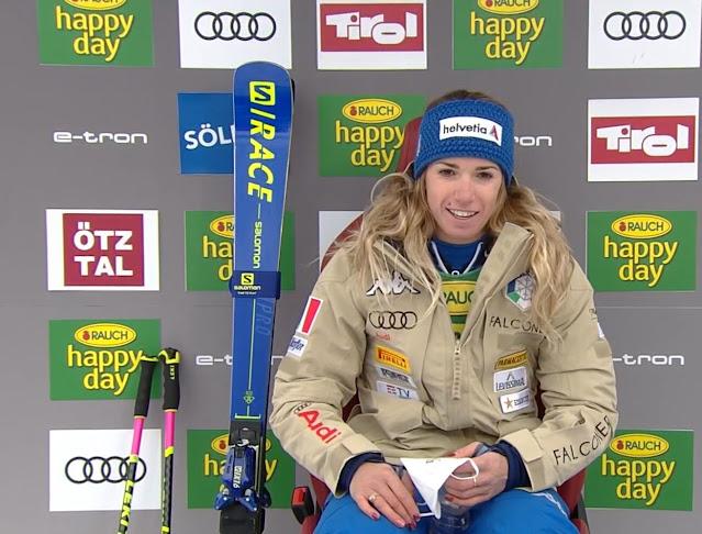 Marta Bassino Wins World Cup Opening GS in Sölden