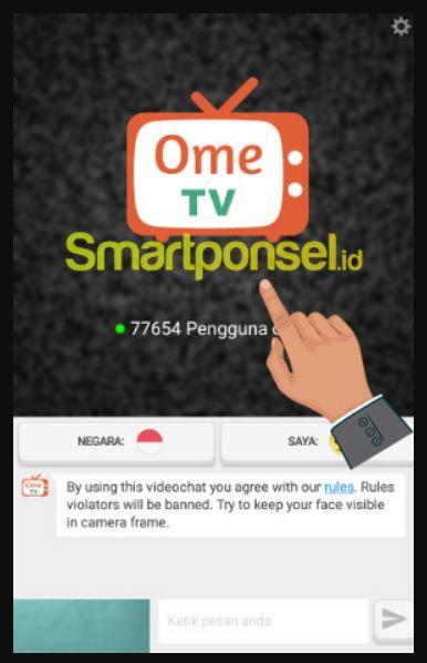 Cara Menggunakan Omegle Ome TV di HP Android