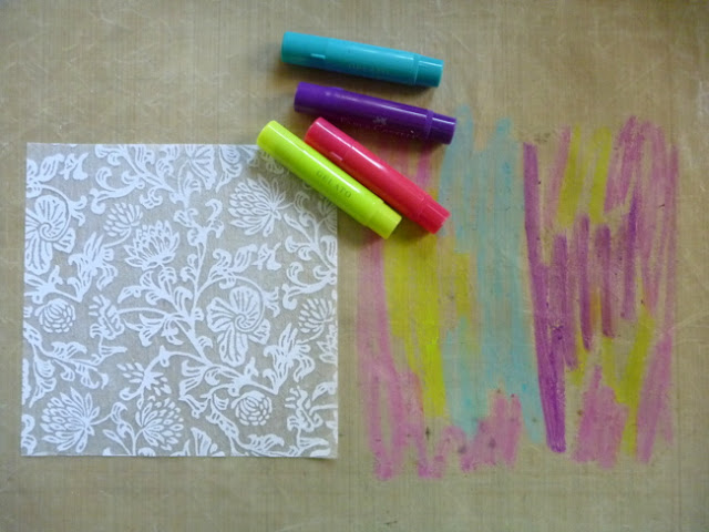 Coloring Specialty Paper with Gelatos by Dana Tatar