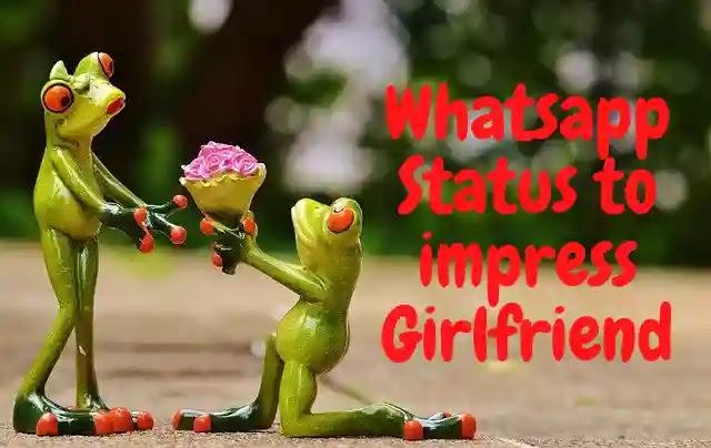 200+ Whatsapp Status to impress Girlfriend in Hindi