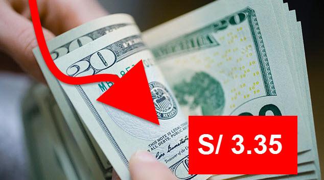 Tipo de Cambio Dólar Perú Baja