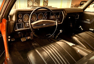 1971 Chevrolet Chevelle Malibu SS Cabin Interior