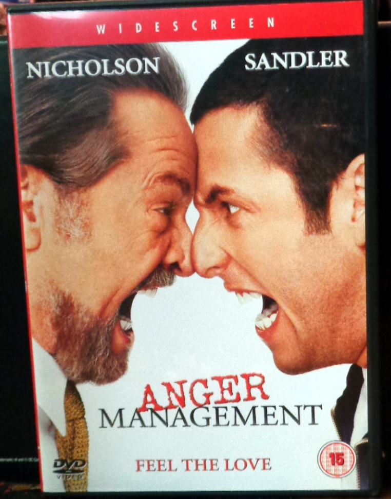 Movies On Dvd And Blu Ray Anger Management 2003