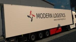 Modern Logistics Kögel Trailer