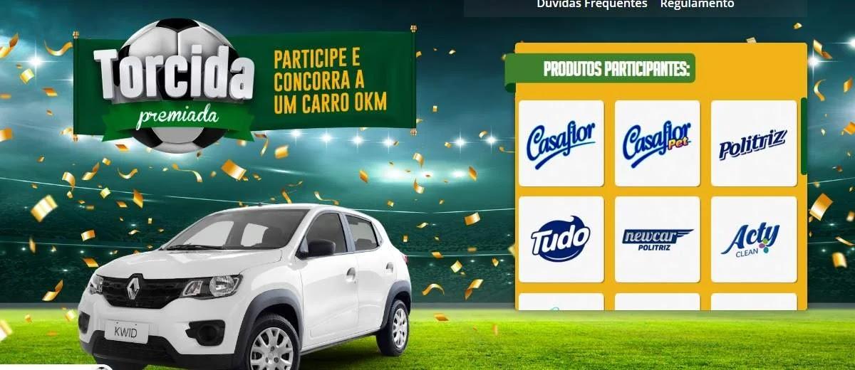 Promoção Politriz 2020 Carro 0KM Torcida Premiada - Velox e Pneubarato.com.br