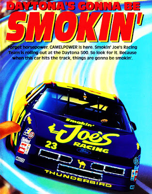 Hut Stricklin #23 Smokin' Joe's Camel Ford Racing Champions 1/64 NASCAR diecast blog 1994 Winston Cup Travis Carter