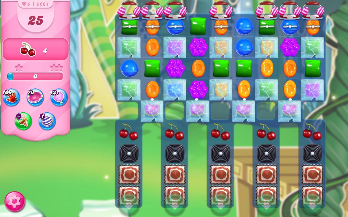 Candy Crush Saga level 5281