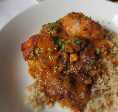 Tagine of Chicken with Apricots & Mint