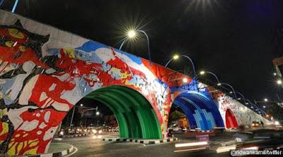 Kerjasama Korea, Jembatan Layang 'Pelangi' Antapani Diresmikan Jusuf Kalla