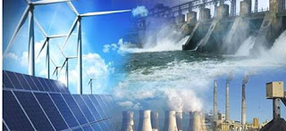 مصادر توليد الطاقة الكهربائية