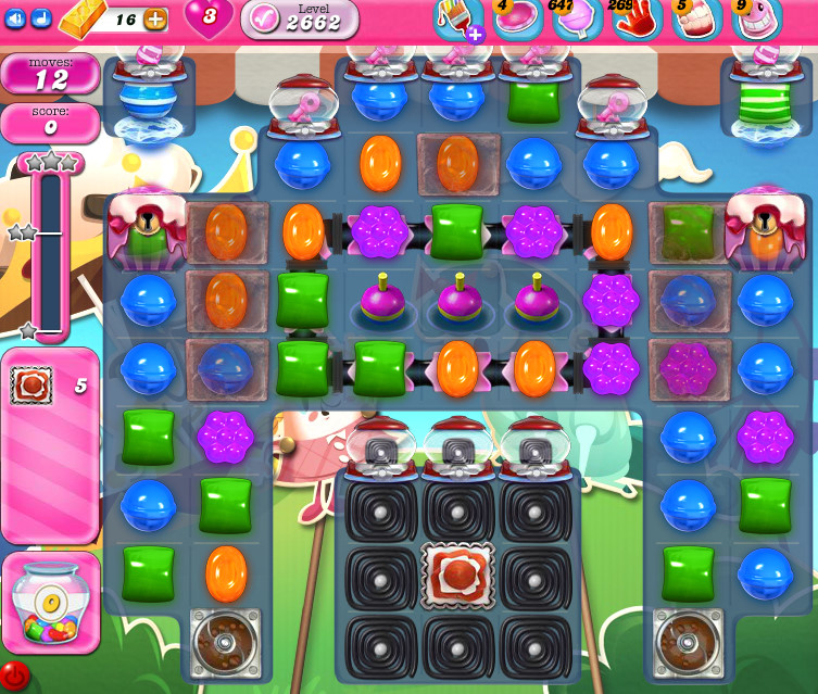 Candy Crush Saga level 2662