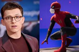 Tom Holland ne Spider-Man 3 ke set se pehli image ko kia share