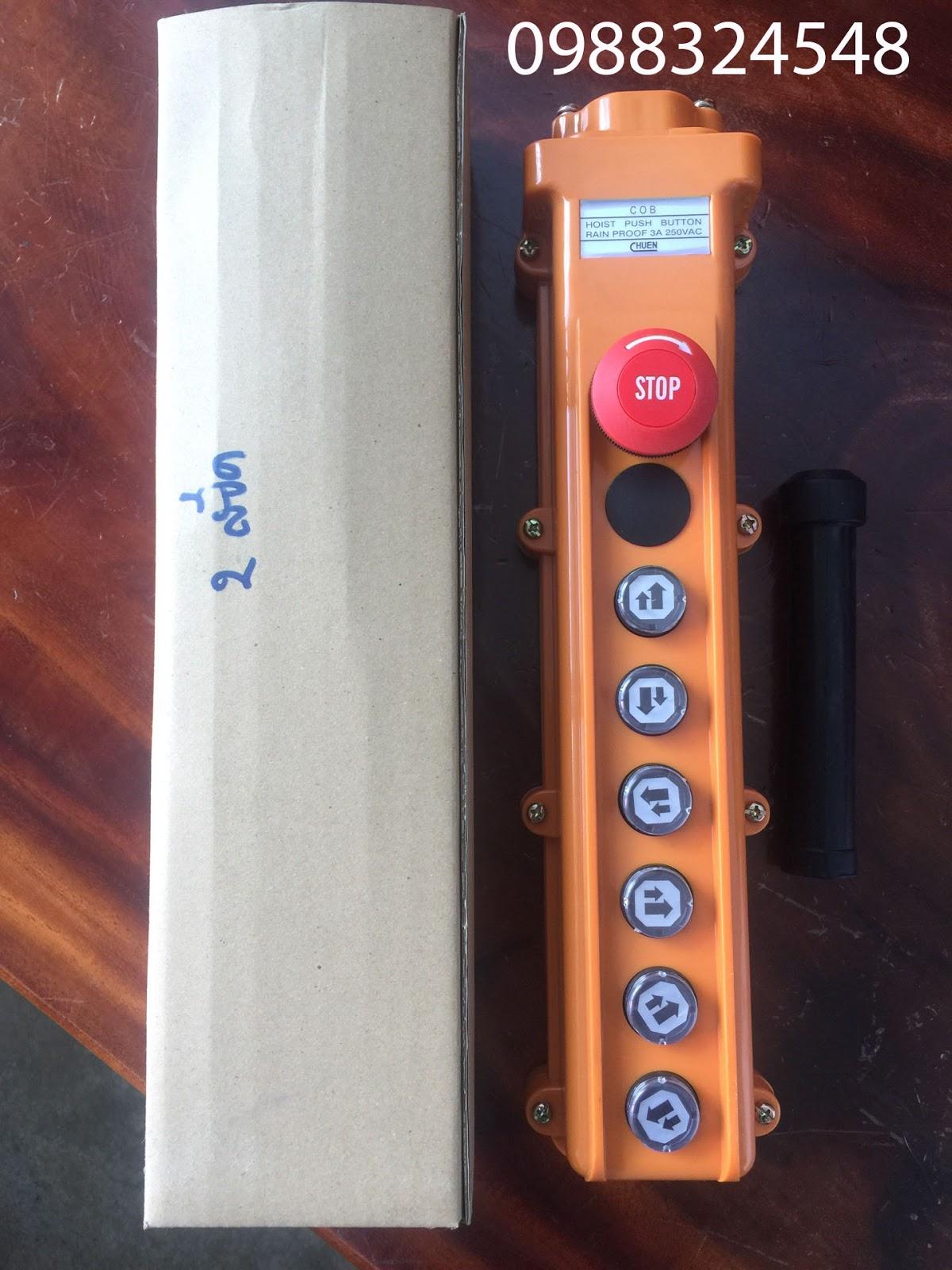 Tay điều khiển cầu trục ITS COB124-3
