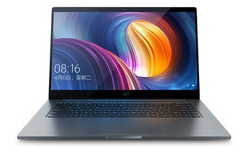 Xiaomi Notebook Pro: 15.6-Inch Intel Core i7-8550U QuadCore Windows10 Fingerprint Laptop