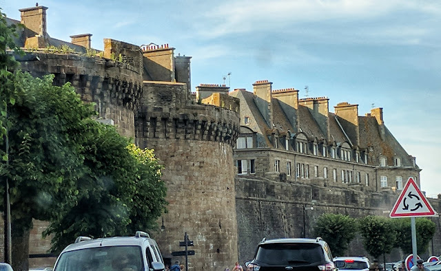 East Side of Saint- Malo City