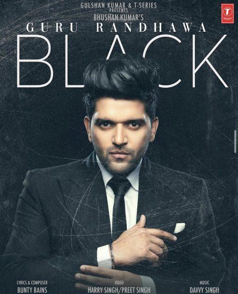BLACK Lyrics - Guru Randhawa