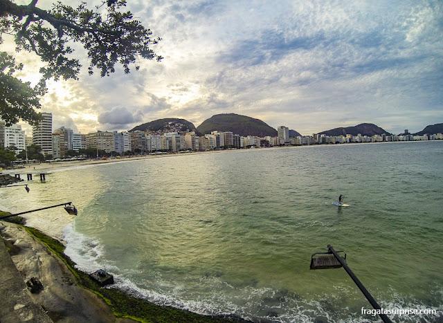 Rio de Janeiro: vista do Forte de Copacabana