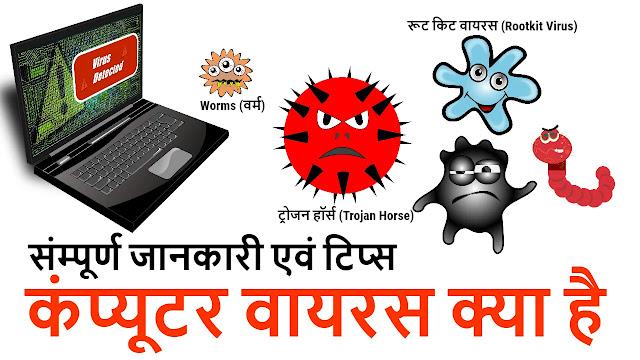 क्या होता है कम्प्यूटर वायरस (What Is Computer Virus)
