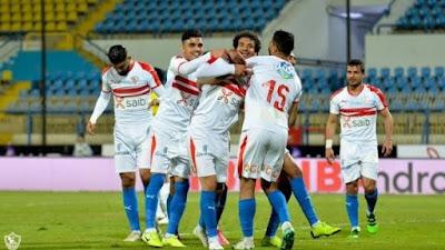 ملخص وهدف فوز الزمالك علي انبي (1-0) بـ الدوري المصري