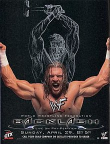WWE / WWF Backlash 2001 - Event Poster