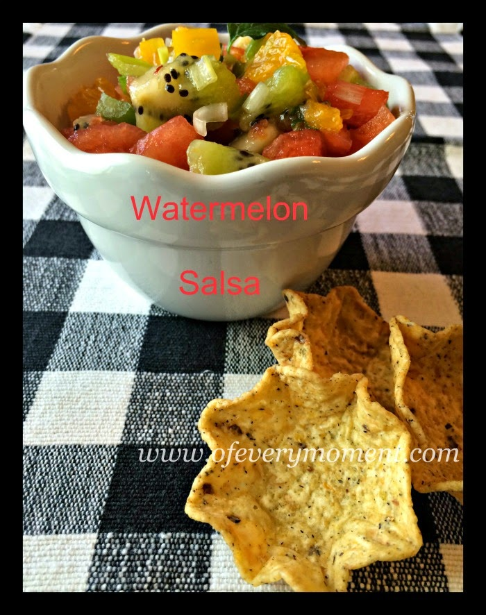 watermelon, recipe, summer food, salsa