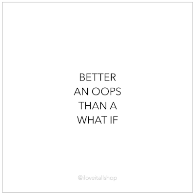 #what if #oops #The Sunday Quote #encouragement #hope #thrive #mindset #boss babe #quote #quotes#