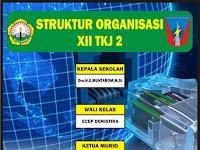 Download Contoh Struktur Organisasi Kelas Format CDR