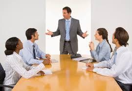 reunião de gerentes