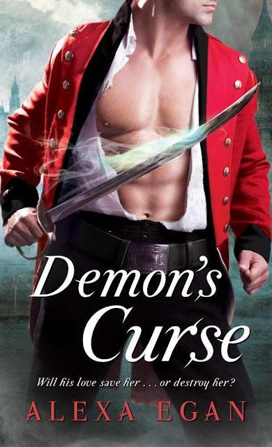 2012 Debut Author Challenge Update - Demon's Curse by Alexa Egan