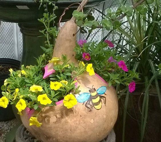 Διακοσμητικές κατασκευές από Κολοκύθες για Κήπο-Μπαλκόνι