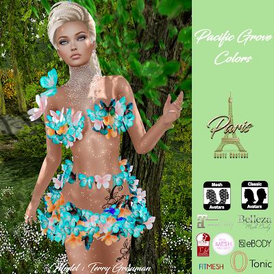 Pacific Grove - Colors - Paris Haute Couture