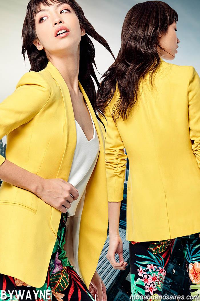 Blazers primavera verano 2020 moda mujer.