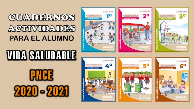 Cuaderno de actividades para Primaria del Programa Nacional de Convivencia Escolar 2020 - 2021