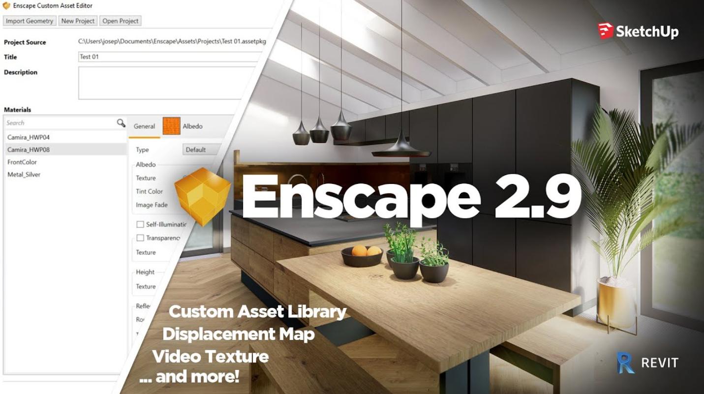 Enscape3D 2.9.0