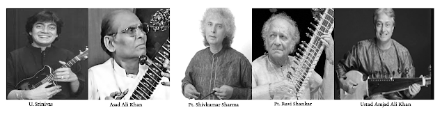 String instruments & their Indian exponents