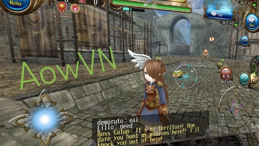 toram aowvn6 - [ HAY ] Toram Online - siêu phẩm MMORPG cực hay cho Android & IOS