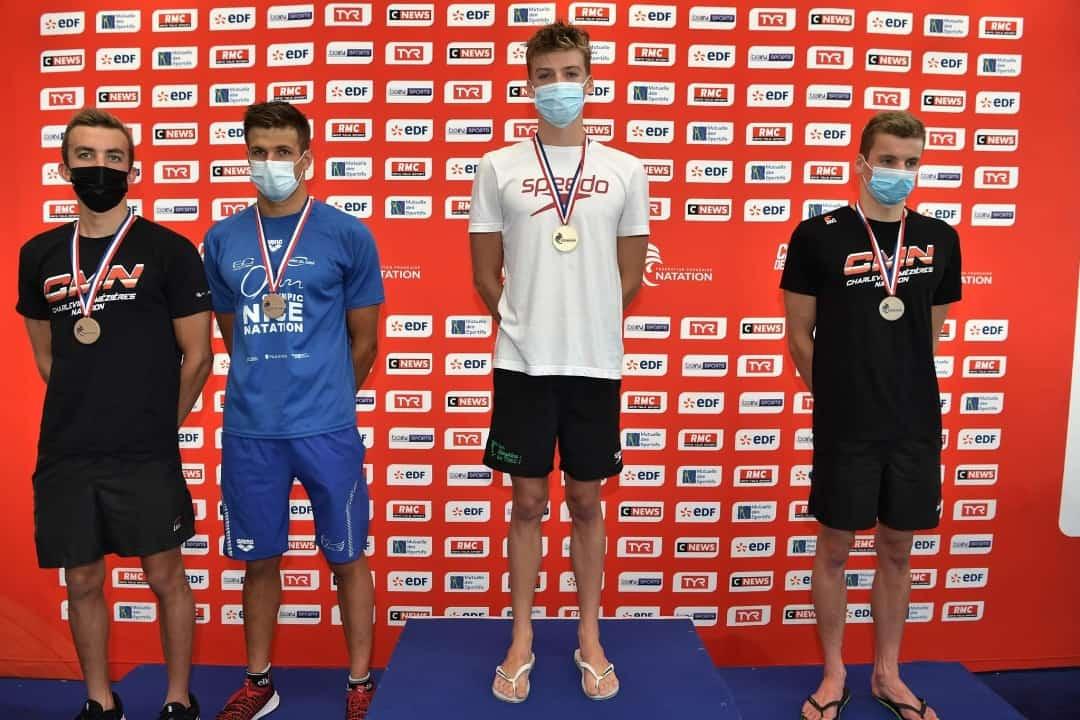 جواد سيود يحطم الرقم القياسي الجزائري لسباق 400 متر سباحة متنوع