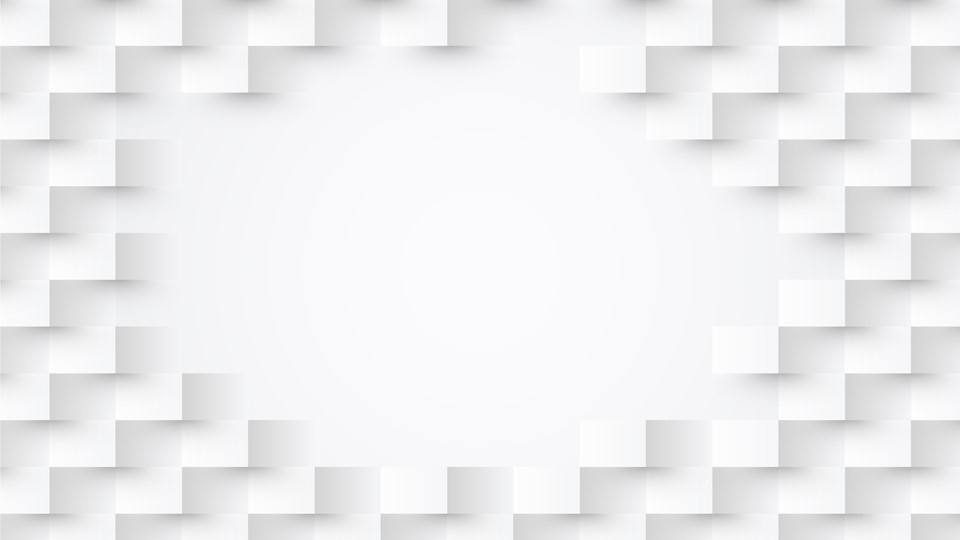 White ppt background has shadow effect