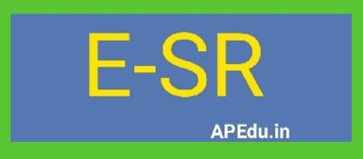 ESR UPDATION NEW LOOK - REVISED MODEL ESR FORMAT