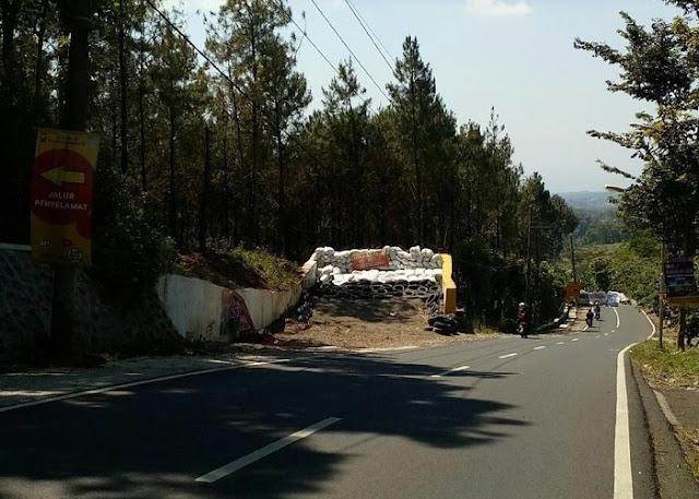 Titik Rawan Bencana dan Kecelakaan di Jalur Mudik Mojokerto - WASPADA