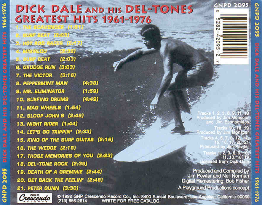 Key bpm for misirlou by dick dale and his del