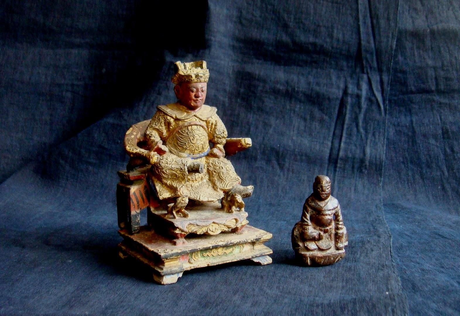 翫藝無知: 木雕廣澤尊王神像