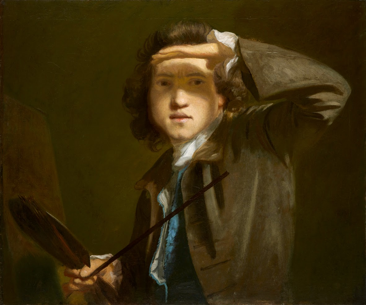 Self-portrait by Sir Joshua Reynolds (1747-9)  © The National Portrait Gallery, London