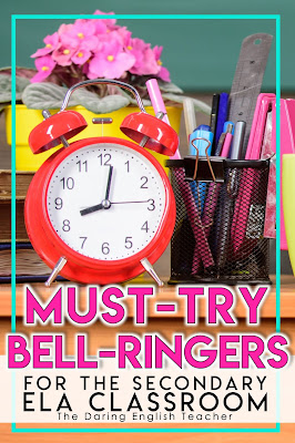 Must-Try Bell Ringers for the English Language Arts Classroom
