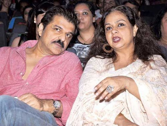 Neelima with Rajesh Khattar